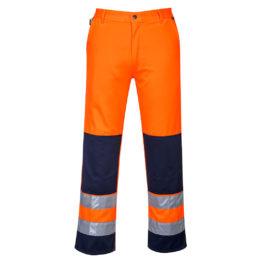 Spodnie Robocze Do Pasa Odblaskowe TX71