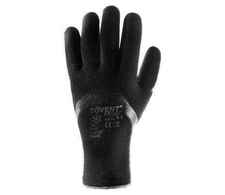 Rękawice Robocze Poliestrowe Ocieplane Powlekane Nitrylem COVENT FROST