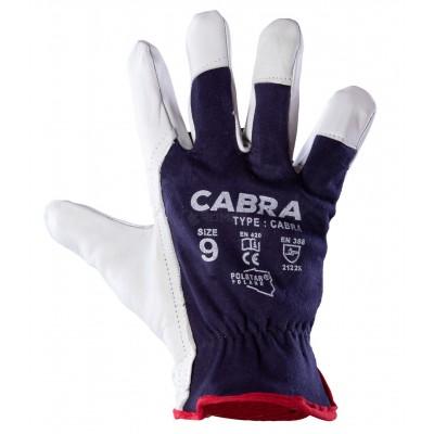 Rękawice Robocze Wzm.skórą Lico CABRA
