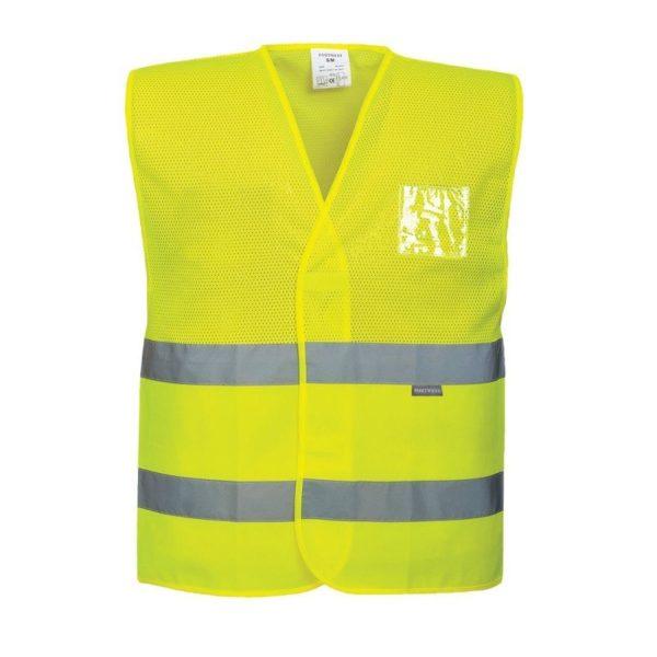 Kamizelka Ostrzegawcza Siatkowa C494 Hi-Vis Mesh Vest